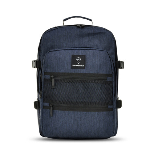 NEW-ROPE ONE POCKET BACKPACK (NAVY)