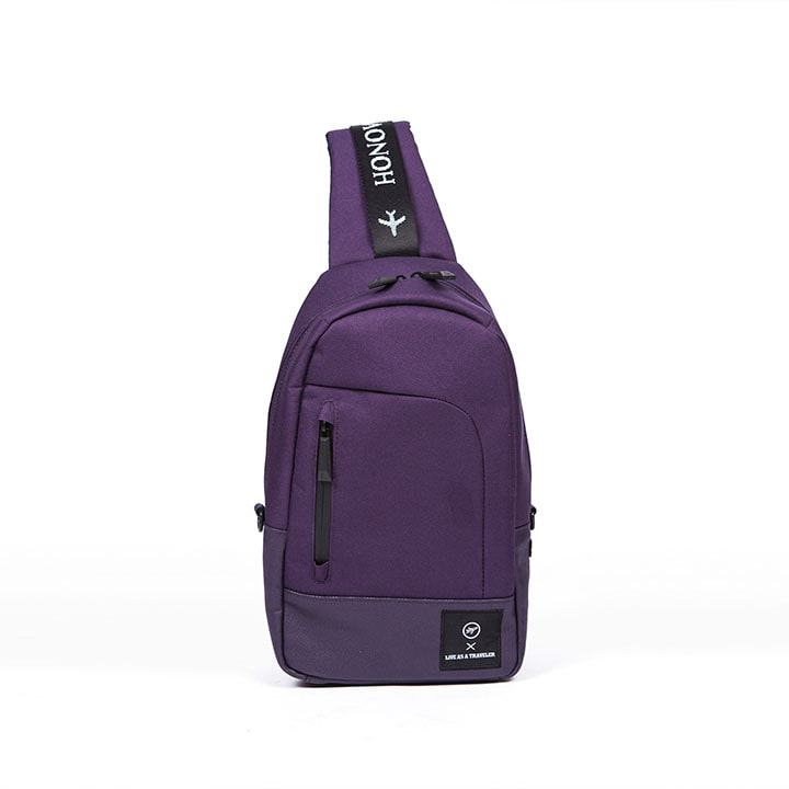 SPACE SLING BAG (PURPLE)