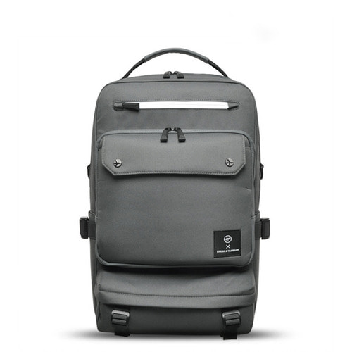NEW-ROPE BIG BACKPACK (GRAY)