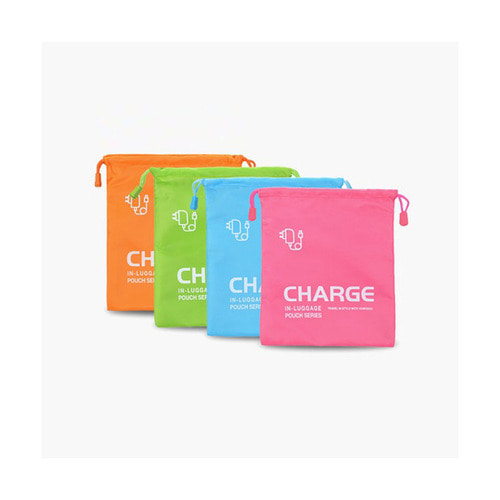 CHARGER ORGANIZER 4COLORS