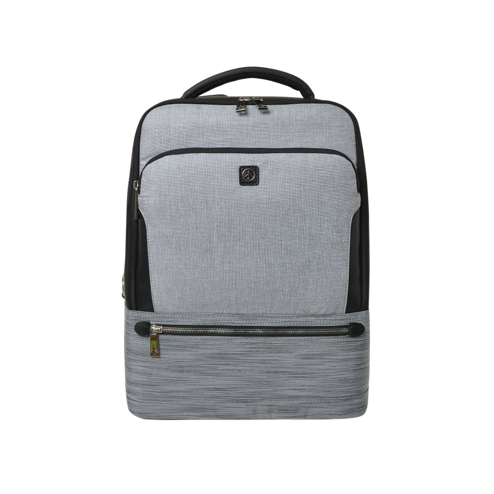 STONE BASIC SQUARE BACKPACK (GRAY)