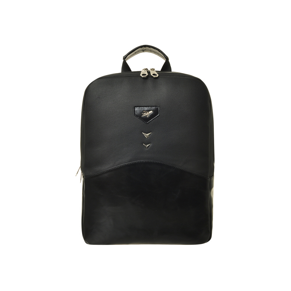 AQUILA SQUARE BACKPACK (BLACK)