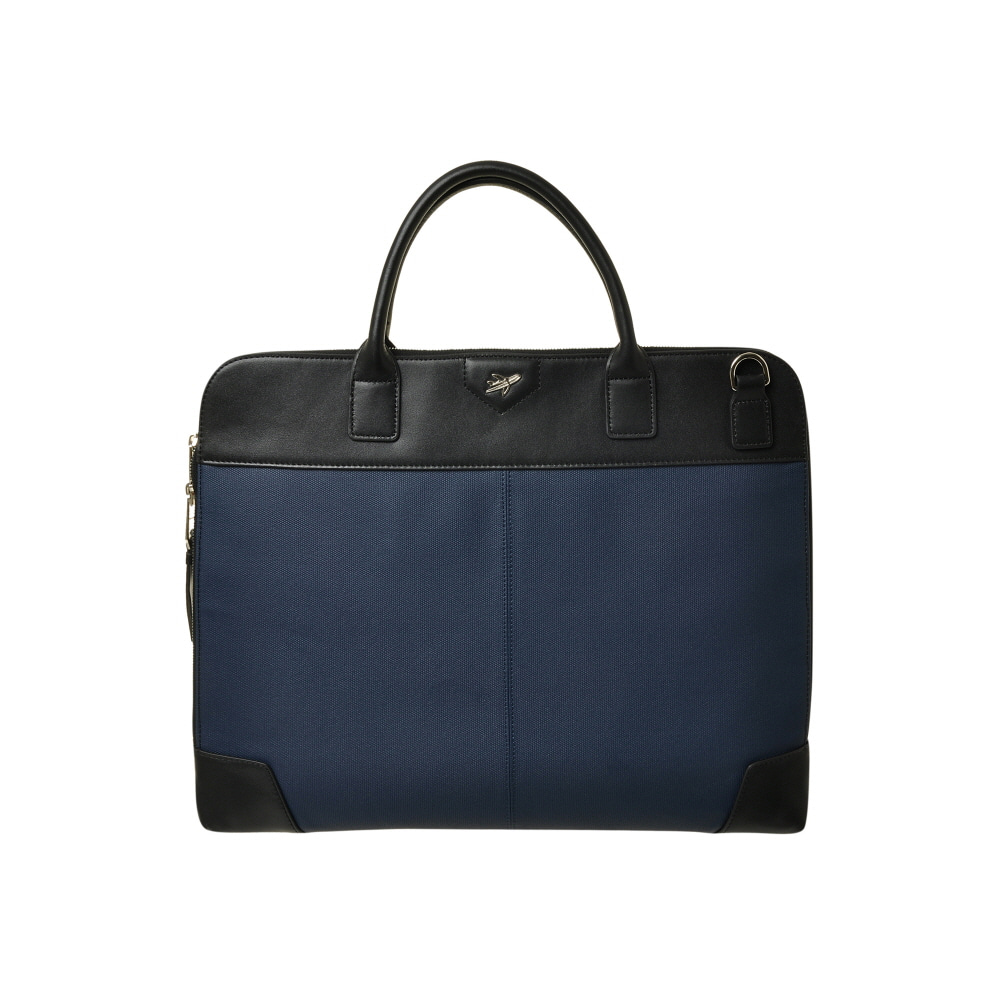 BUSINESS FLAT TOTE BAG (NAVY)