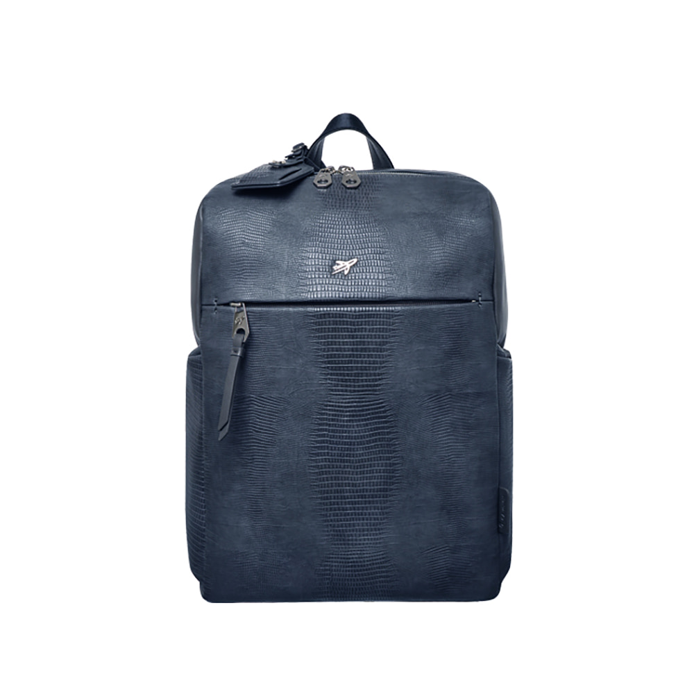 LIZARD BASIC SQUARE BACKPACK (NAVY)