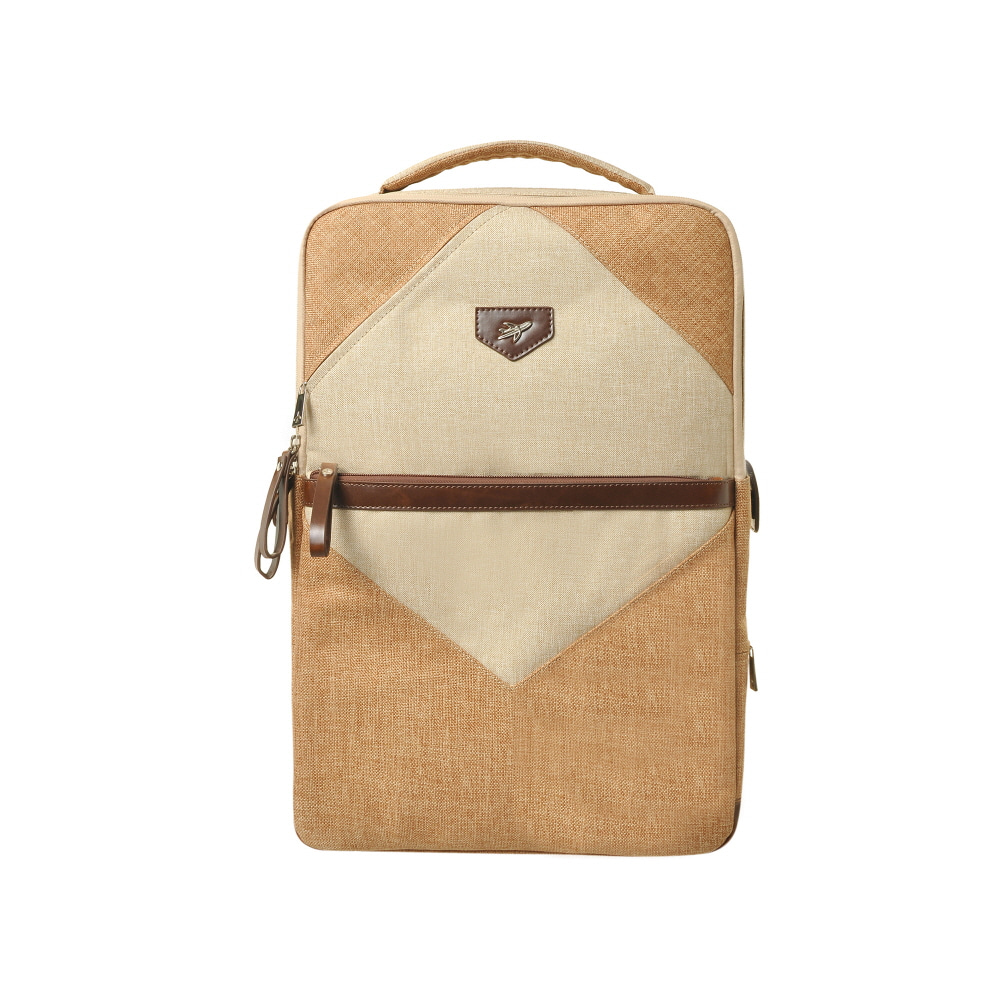 STONE BASIC MENS BACKPACK (BEIGE)