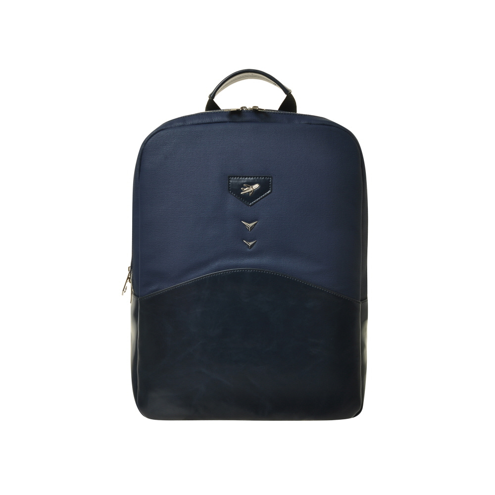 AQUILA SQUARE BACKPACK (NAVY)