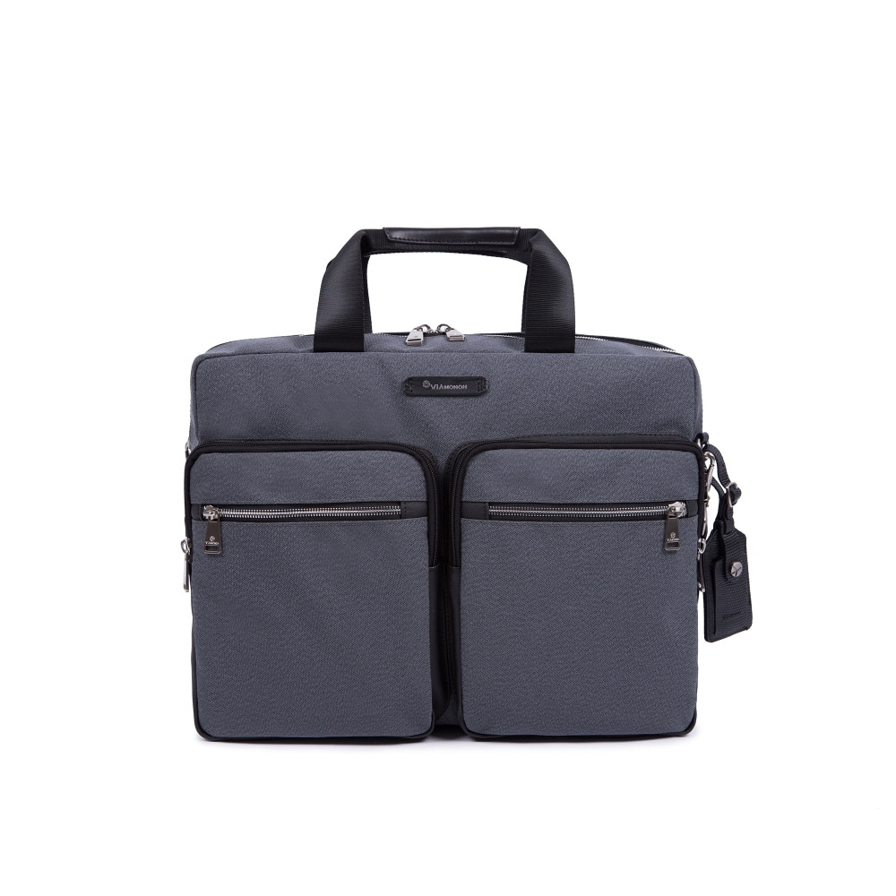 NOVEL BRIEFCASE (GRAY)