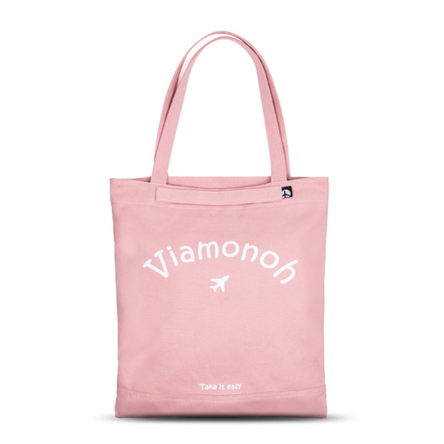 PLAYFUL CANVAS ECOBAG (PINK)