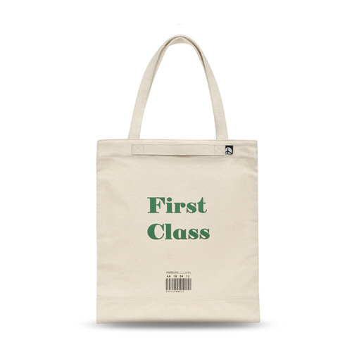 PLAYFUL CANVAS ECOBAG (GREEN)
