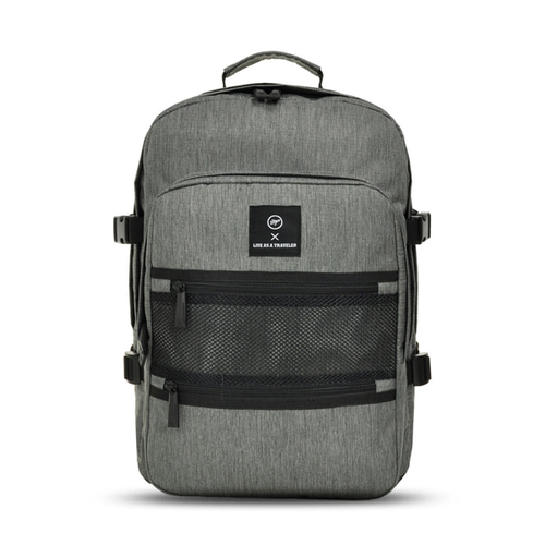 VIAMONOH NEW-ROPE ONE POCKET BACKPACK (GRAY)