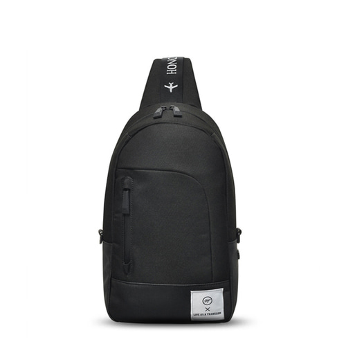 SPACE SLING BAG (BLACK)