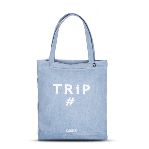 PLAYFUL CANVAS ECOBAG (DENIM)