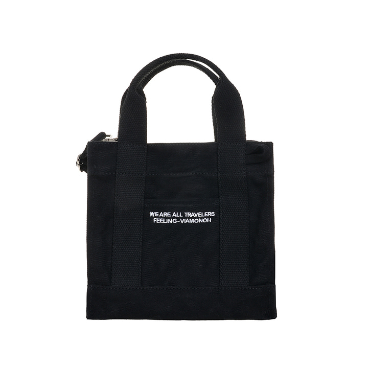 DAILY MINI CANVAS BAG (BLACK)