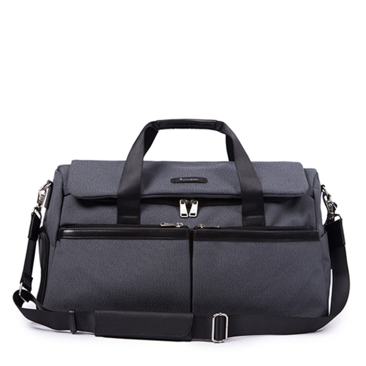 NOVEL BIG BOSTON BAG (GRAY)