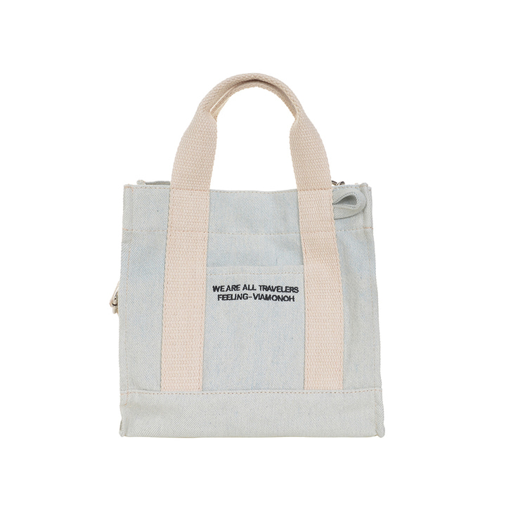 DAILY MINI CANVAS BAG (DENIM)