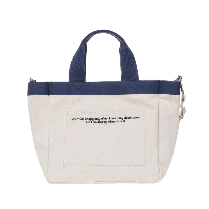 DAILY MINI TOTE CANVAS BAG (IVORY)