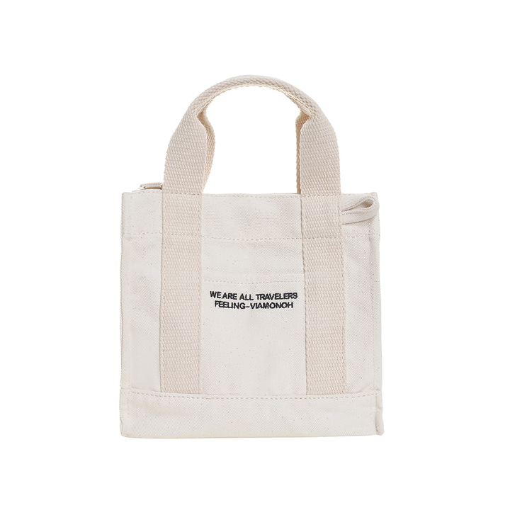 DAILY MINI CANVAS BAG (IVORY)