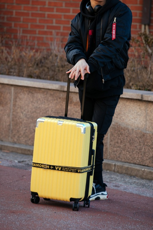 VITO TRAVEL BAG / YELLOW