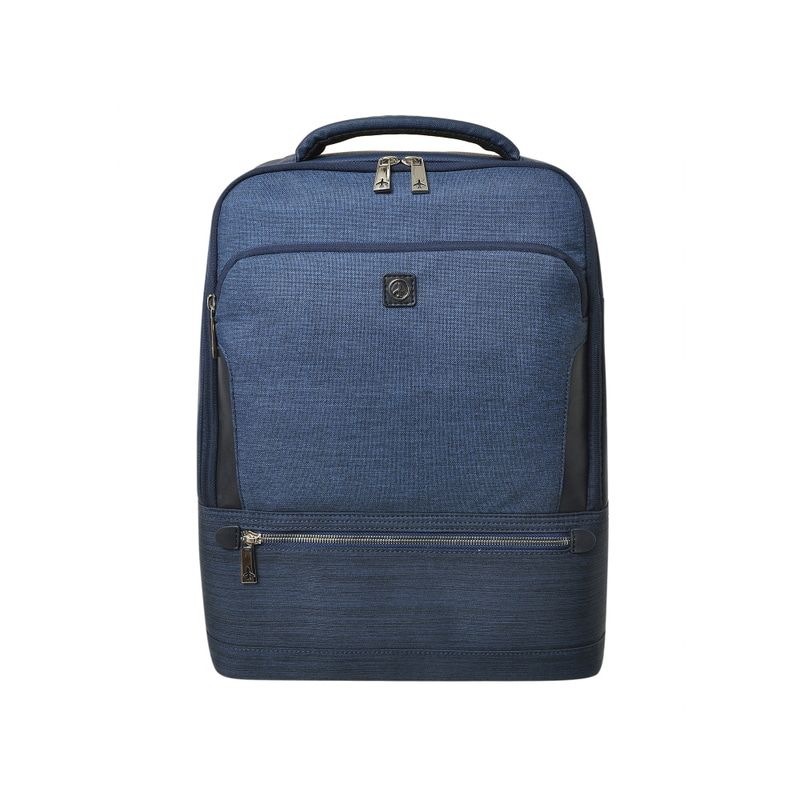 STONE BASIC SQUARE BACKPACK (NAVY)