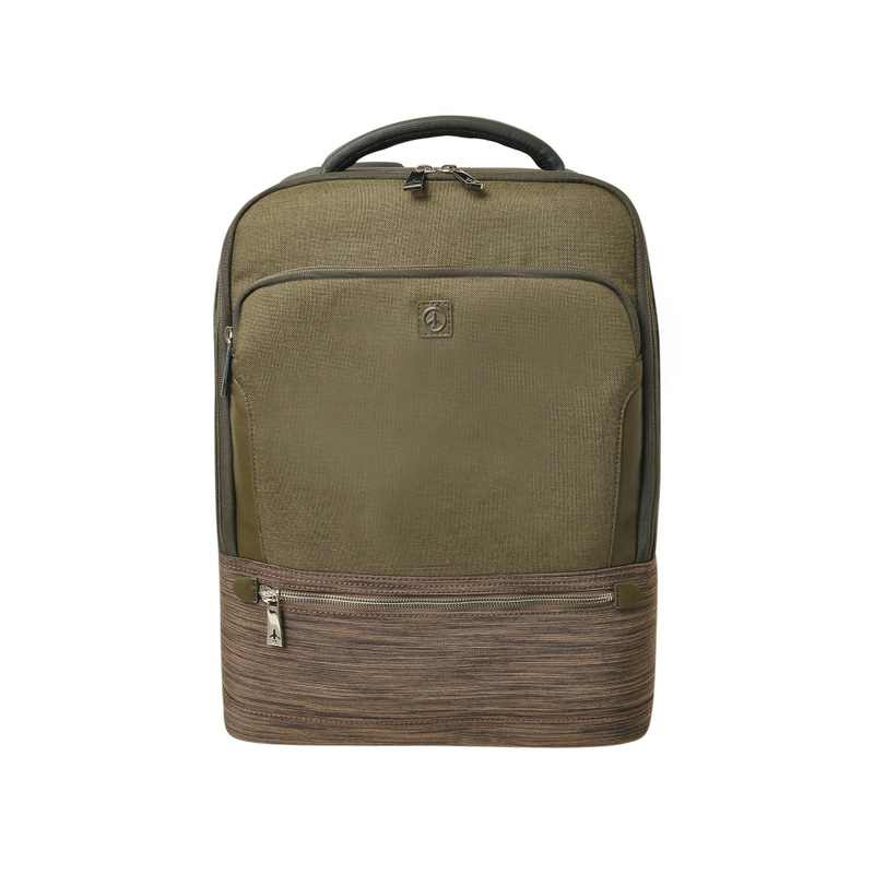 STONE BASIC SQUARE BACKPACK (KHAKI)