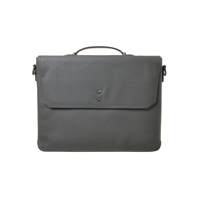 BUSINESS TOTE & SHOULDER BAG_L (GRAY)