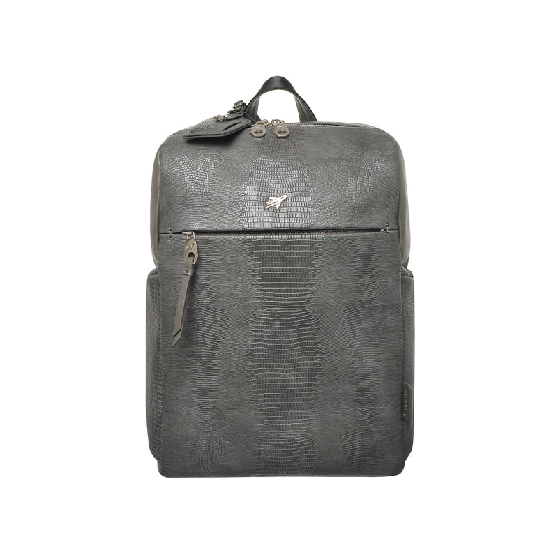 LIZARD BASIC SQUARE BACKPACK (GRAY)