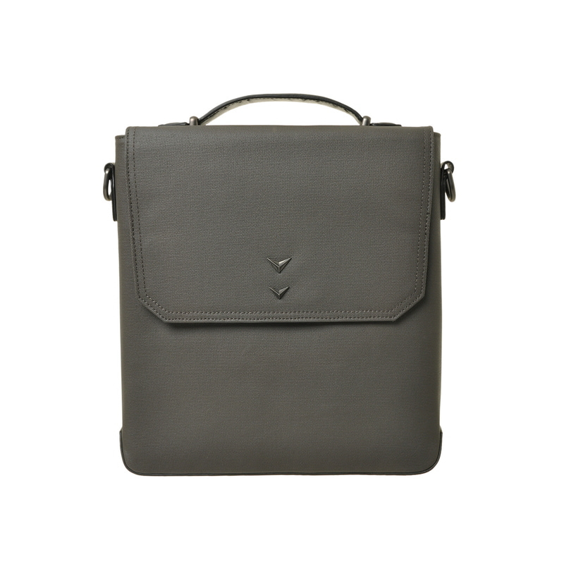 BUSINESS TOTE & SHOULDER BAG_S (GRAY)