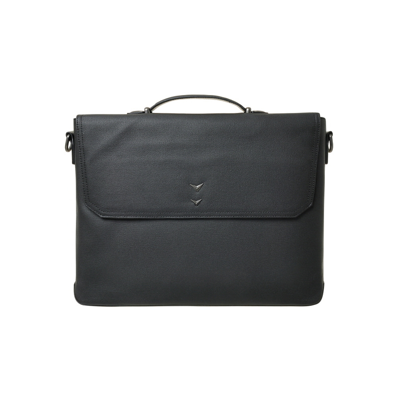 BUSINESS TOTE & SHOULDER BAG_L (BLACK)