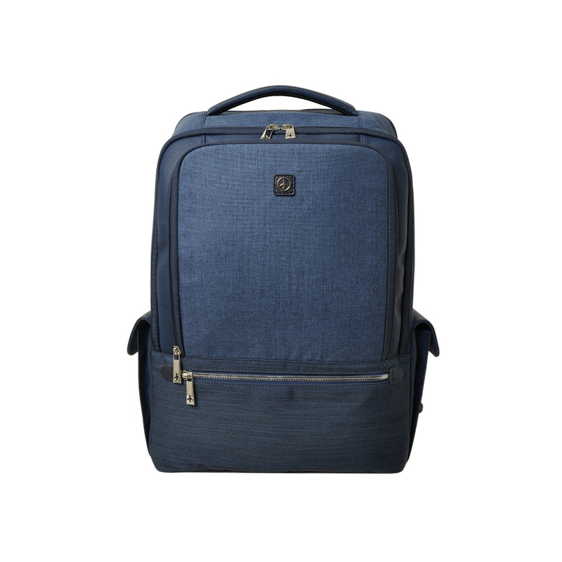 STONE BASIC SIDE POCKET BACKPACK (NAVY)