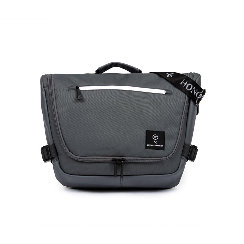 NEW-ROPE MESSENGER BAG (GRAY)