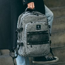 NEW-ROPE ONE POCKET BACKPACK (GRAY)
