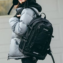 RIAM BIG BACKPACK (BLACK)